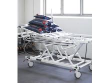 Moderna sjukhussängar från Proton Caretec klarar tuffa tester