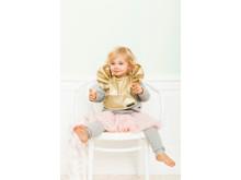Baby Bib - Golden Wings - 3733 x 5600 px