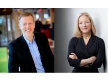Lena Bjurner och Henrik Dider