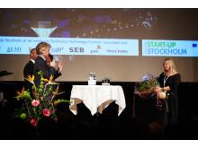 Lesley Pennington, grundare och vd för företaget Bemz, utses till Start-Up Stockholms Stipendiat 2012