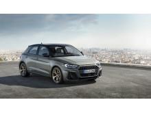 Audi A1 (Chronos Grey) forfra