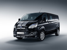 Ford Transit Custom Black Edition