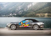 Ford Mustangin polviturvatyyny