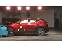 Mazda CX-30 frontal offset impact test November 2019