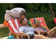 Eric Stonestreet och Jesse Tyler Ferguson i Modern Family säsongspremiär på FOX söndag den 28/10 kl 21.00.