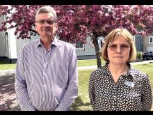 Förvaltningscheferna Thomas Svensson och Torill Skaar Magnussson