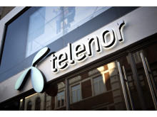 Telenors butiksfacade