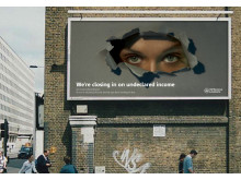 Tax Evasion Campaign billboard