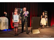 Prisutdelning - Hederspris Lily Bollinger Award