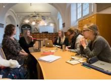 Pilotprojektet Att skriva kulturhistoria på Wikipedia, läsåret 2016/2017 av Nordiska museet och Wikimedia Sverige