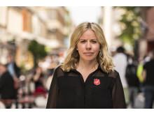 Madeleine Sundell, ordförande i Civila Plattformen mot Människohandel och Nationell samordnare för Frälsningsarméns arbete mot människohandel.
