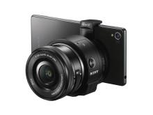 SmartShot QX1 mit Xperia von Sony_01