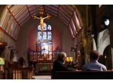 """Morgan Freeman interviewer """"John"""" i St. Mark's Church om sine erfaringer med eksorcisme"""