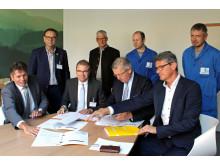 Linhardt und Bayernwerk Natur unterzeichnen Verträge