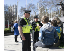 Officers in Parliament Square