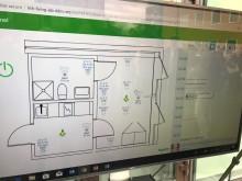 Data i realtid från en av lägenheterna i KTH Live In Lab