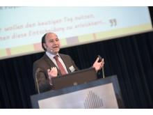 Geschäftsführer Marc Gebauer  präsentierte ein erfolgreiches Jahr 2015