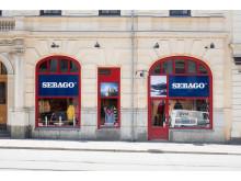 Sebago Store GBG Fasad