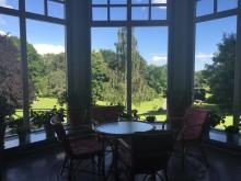 Villa Svalnäs  från salongen