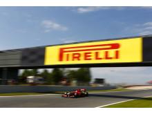 Kval till Spaniens GP, Pirelli PZero i pole position