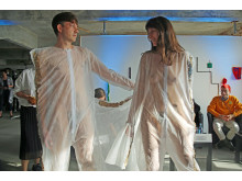 Designerin Mirjam Burer zeigt ihre Mode auf der Designers' Open