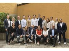Eneos team i augusti 2017