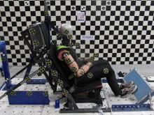 Rear impact prototype dummy BioRID50F