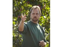 Jan Flemming Jensen, odlingschef på Kiviks Musteri