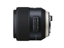 Tamron SP 85mm F/1,8 Di VC USD, från sidan