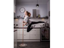Ballet dancer after hours