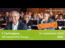 Die bfb Fachtagung informiert über aktuelle Herausforderungen, Konzepte und Trends des barrierefreien und demografiefesten Bauens.   Bild
