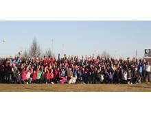 Entusiastiske deltakere samlet på Trivselsseminar