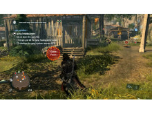 Assassins Creed Rogue PC with Tobii eye tracking visualization
