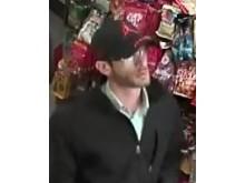CCTV image of man police wish to identify