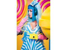 Ashley Roberts - Viridian Blue - Harajuku Girl