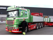 Ny Scania R 580 til Steffen Brixtofte Transport
