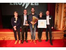 Åsa Domeij, Axfood, Kent Pettersson, Löfbergs, Anders Thorén, Löfbergs, Karin Lidberg, Löfbergs och Ulf Renée, Axfood.