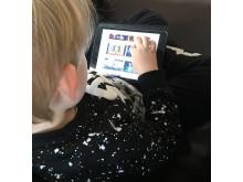 Barn och skärmar