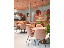 Restauranten er inspirert av det japanske kjøkkenets evne til å rendyrke og forhøye smaksopplevelser og teksturer av høyeste kvalitet.