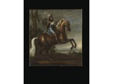 David Klöcker Ehrenstrahl (1628-1698), Karl XI till häst, 1673, Grand Antiques 2014.