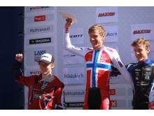 Norges cup 4 rye terrengsykkelfestival pallen M-junior