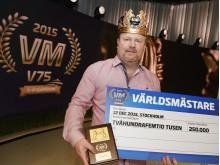 Magnus Strömsten - världsmästare i V75