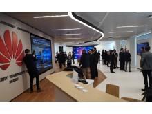 Huawei Cyber Security Transparence Centre i Bryssel, interiörbild