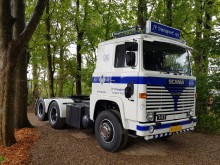 Scania 141 i jubilæumsgave