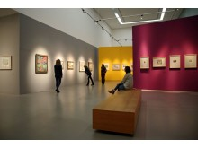 """Blick in die Ausstellung """"Nolde und die Brücke"""" im Museum der bildenden Künste Leipzig (1)"""