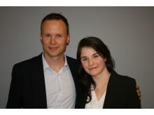 Dunja Matanovic og Anders Øwre-Johnsen