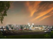 Man planerar även att skapa en tydligare entré till Valbo