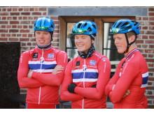 Landslaget før Flandern Rundt U23 2017