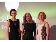 Vinnare Polly Higgins - Utstickarpriset