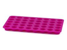Knäckplåt i silikon rosa